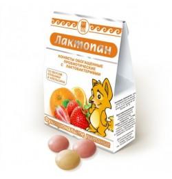 Конфеты обогащенные пробиотические Лактопан